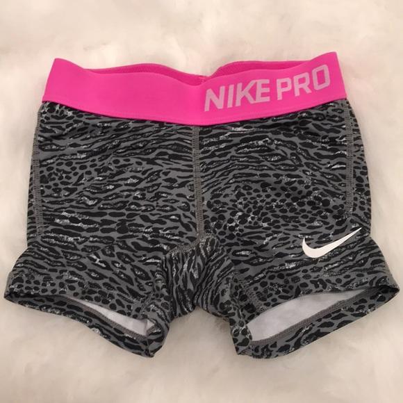 34c103898ce Girls Nike Pro Cheer Shorts XS